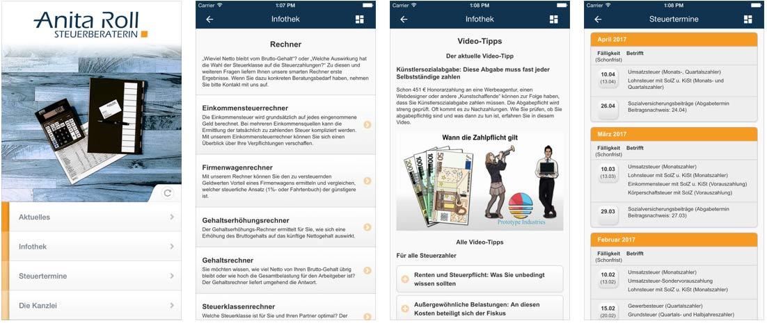 Die Kanzlei-App